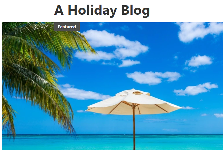 holiday blog post idea